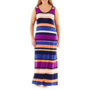 a.n.a® Sleeveless Racerback Maxi Dress - Plus
