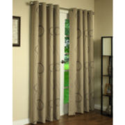 Brooke Printed Grommet-Top Thermal Curtain Panel