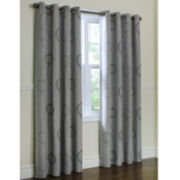 Brooke Printed Grommet-Top Thermal Curtain Panel