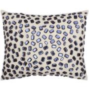 Andrea Faux-Gemstone Decorative Pillow