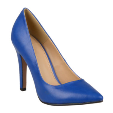 jcpenney.com | Journee Collection Yoko Pointed Toe Pumps in Wide Width