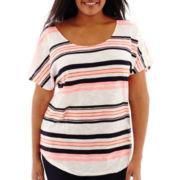 Stylus™ Dolman-Sleeve T-Shirt - Plus
