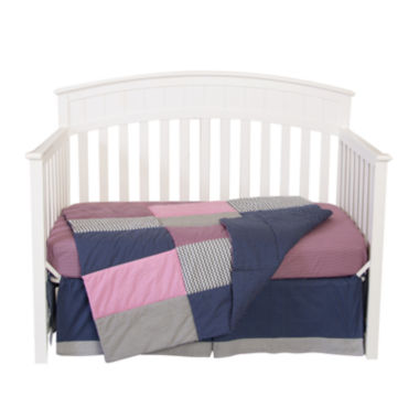 jcpenney.com | Trend Lab® Perfectly Pretty 3-pc. Crib Bedding Set