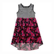 Youngland® High-Low Dress – Preschool Girls 4-6x
