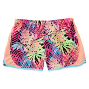 Xersion™ Neon-Print Running Shorts - Girls 7-16 and Plus