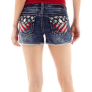 Wallflower Bling Americana Shorts