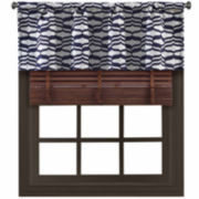 Richloom Undulation Rod-Pocket Tailored Valance