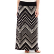 Alyx® Pull-On Ruched Maxi Skirt - Plus