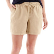 Stylus™ Linen Shorts - Plus