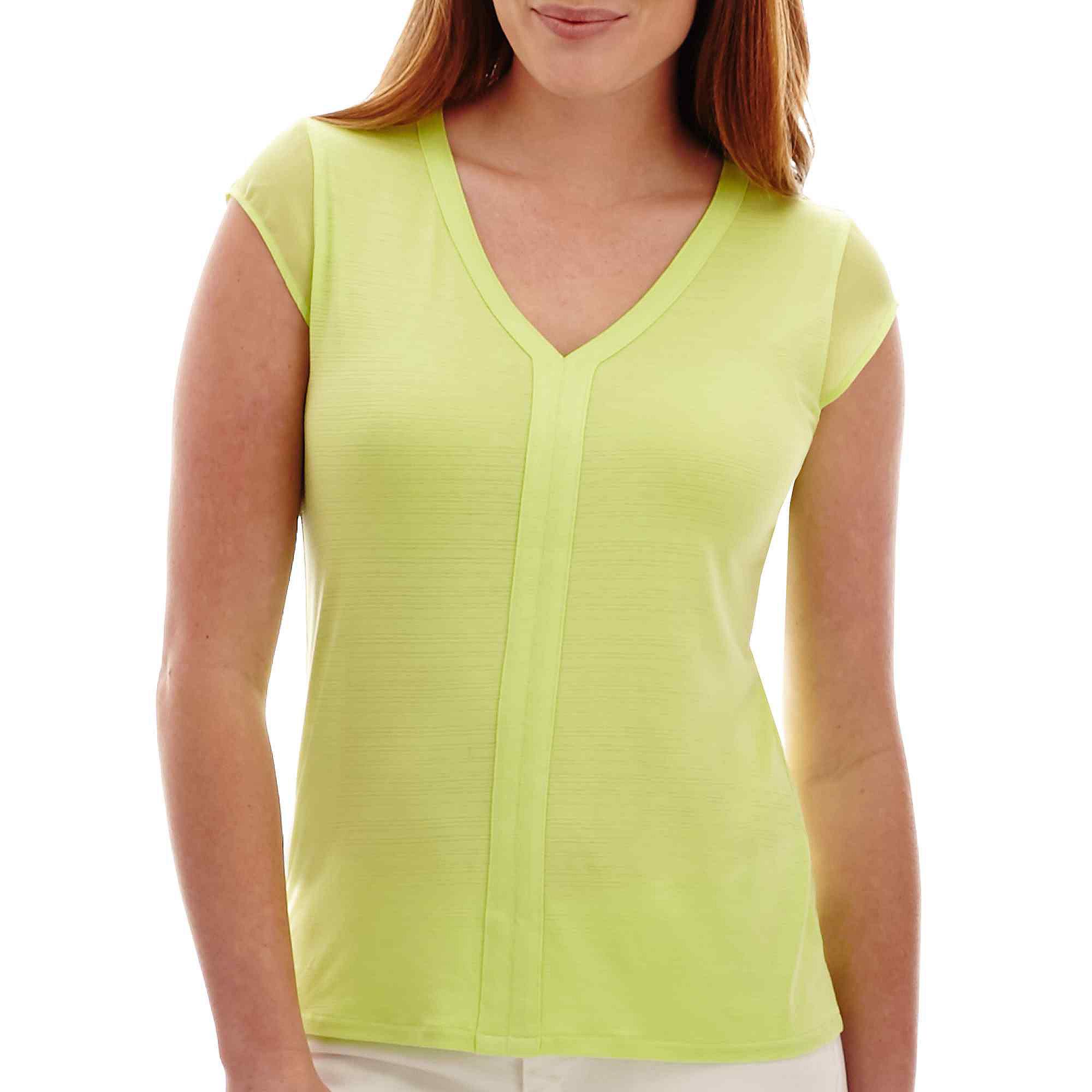 Save an extra 20 off of these liz claiborne deals for Liz claiborne v neck t shirts