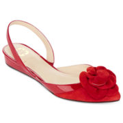 Monet® Lilly Floral Slingback Flats
