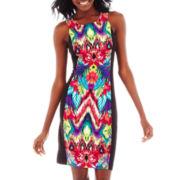 nicole by Nicole Miller® Block Print Dress