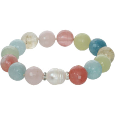 jcpenney.com | ROX by Alexa Multi-Gemstone Beaded Stretch Bracelet