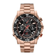 Bulova® Precisionist Mens Stainless Steel Bracelet Chronograph Watch