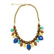 Mixit™ Multicolor Stone Collar Necklace