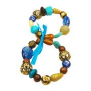 Mixit™ Multicolor Stone Stretch Bracelet Set