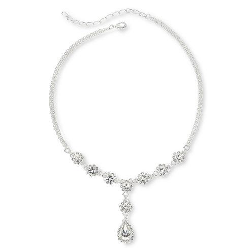 Vieste® Crystal Y Necklace