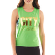 City Streets Sleeveless Graphic Tee