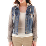 Arizona Long-Sleeve Denim and Fleece Jacket