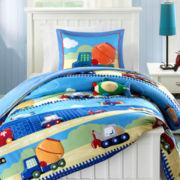Mizone Truck Zone Reversible Comforter Set