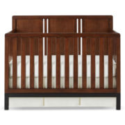 Bedford Baby Uptown 4-in-1 Convertible Crib - Walnut