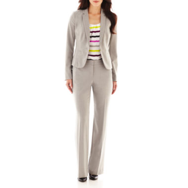 jcpenney.com | Worthington® 1-Button Jacket, Belted Blouse or Curvy Pants