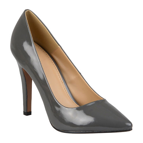 Journee Collection Tokyo Patent Pumps