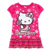 Hello Kitty® Graphic Glitter Tunic - Toddler Girls 2t-4t