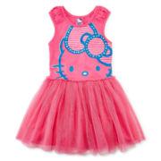 Hello Kitty® Glitter Tutu Dress - Preschool Girls 4-6x