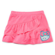 Hello Kitty® Cascade Ruffle Skort - Preschool Girls 4-6x
