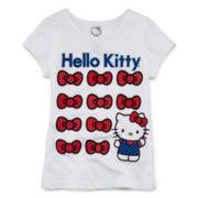 Hello Kitty® Glitter Graphic Tee - Preschool Girls 4-6x