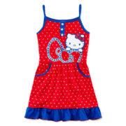 Hello Kitty® Graphic Glitter Dress - Preschool Girls 4-6x