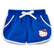 Hello Kitty® French Terry Shorts - Preschool Girls 4-6x