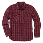 Vans® Plaid Button-Front Shirt - Boys 8-20