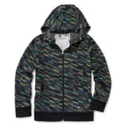 Xersion™ Fleece Zip-Front Hoodie