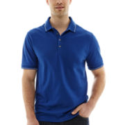 Claiborne® Tipped Piqué Polo Shirt