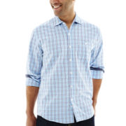 Michael Brandon Long-Sleeve Small Plaid Shirt