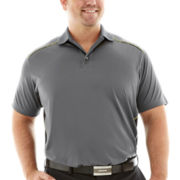 The Foundry Supply Co.™  Pieced Printed Polo-Big & Tall