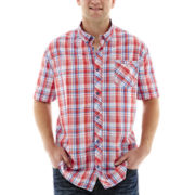 i jeans by Buffalo Marci Short-Sleeve Woven Shirt-Big & Tall