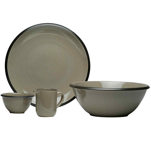 Hampshire Stoneware 4-pc. Serveware Set