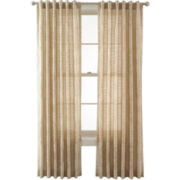 Royal Velvet® Pierson Stripe Back-Tab Sheer Panel