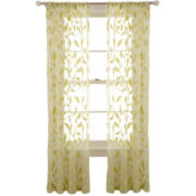 MarthaWindow™ Garden View Rod-Pocket Sheer Panel
