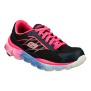 Skechers® Go Run Ride Girls Sneakers - Little Kids