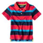 Arizona Short-Sleeve Striped Polo - Boys 2t-6t