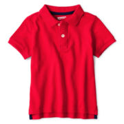 Arizona Short-Sleeve Solid Piqué Polo - Boys 2t-6t