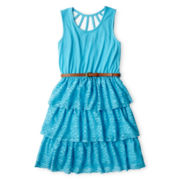 Disorderly Kids® Lace Tiered Sleeveless Dress - Girls - 7-16