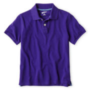 Arizona Solid Polo Shirt - Boys 6-18