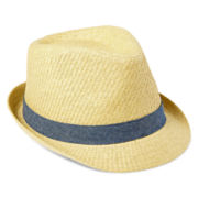 Arizona Straw Fedora Hat - Boys