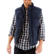 St. John's Bay® Solid Puffer Vest