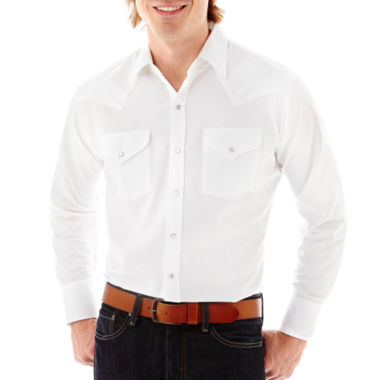 jcpenney.com | Ely Cattleman® Long-Sleeve Oxford Solid Shirt